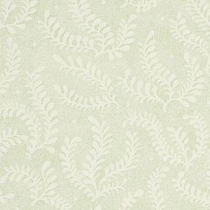 5010381 ETCHED FERN Leaf Schumacher Wallpaper