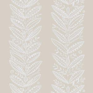 5010830 ELAND NATURAL Schumacher Wallpaper