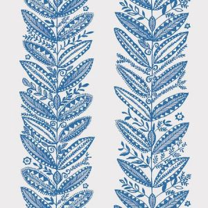 5010831 ELAND BLUE Schumacher Wallpaper