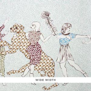5011090 THE GOLDEN AGE Cyan Multi Schumacher Wallpaper