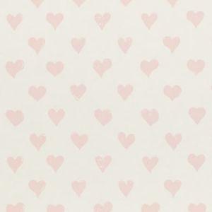 5011160 HEARTS PINK Schumacher Wallpaper
