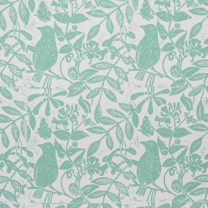 5011192 BIRD & BEE SEAGLASS Schumacher Wallpaper