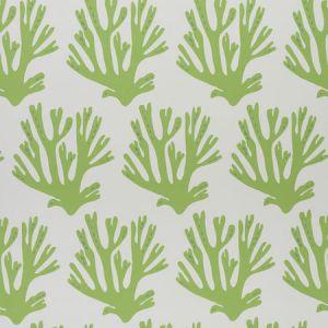 5011200 CORAL GREEN Schumacher Wallpaper