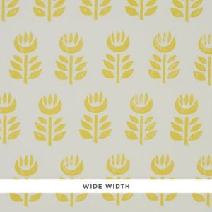 5011331 ROSENBORG YELLOW Schumacher Wallpaper
