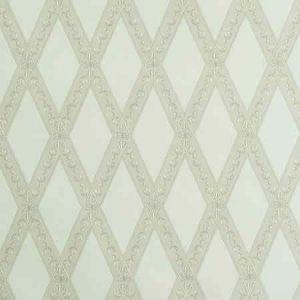 5011360 LES LOSANGES TOILE Stone Schumacher Wallpaper