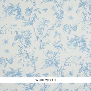 5011711 TOILE DE LA PRAIRIE Blue Schumacher Wallpaper