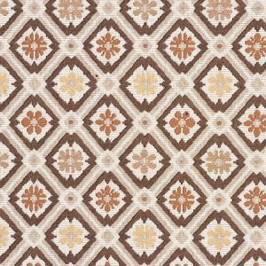 62494 SAVONNERIE TAPESTRY Brown Schumacher Fabric