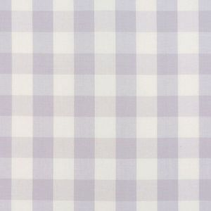63046 CAMDEN COTTON CHECK Lilac Schumacher Fabric
