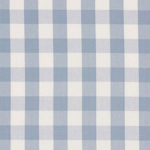 63048 CAMDEN COTTON CHECK Sky Schumacher Fabric