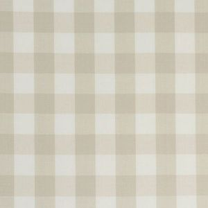 63049 CAMDEN COTTON CHECK Natural Schumacher Fabric