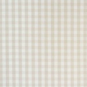 63068 ELTON COTTON CHECK Natural Schumacher Fabric