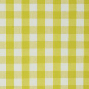 63069 ELTON COTTON CHECK Yellow Schumacher Fabric