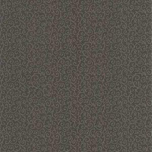 670-66958 Scroll Small Swirling Vine Black Brewster Wallpaper