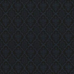 68814 HEDGEROW TRELLIS INDOOR OUTDOOR Midnight Schumacher Fabric