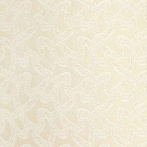 68842 CHANTILLY Blanc Schumacher Fabric