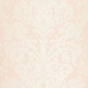 68881 CHATEAU SILK DAMASK Blush Schumacher Fabric