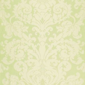 68883 CHATEAU SILK DAMASK Citron Schumacher Fabric