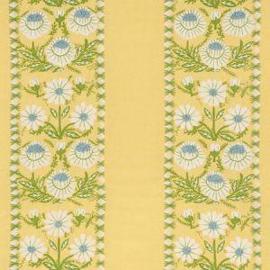 72333 MARGUERITE EMBROIDERY Buttercup Schumacher Fabric