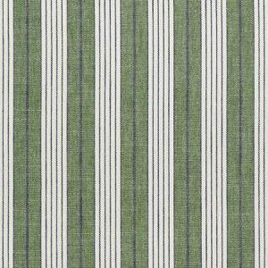 72605 HORST STRIPE Green Schumacher Fabric