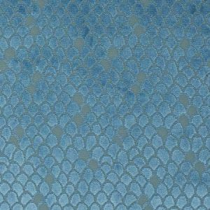 72772 ESTHER VELVET Peacock Schumacher Fabric