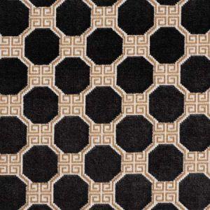 72795 OCTAVIA VELVET Onyx Schumacher Fabric