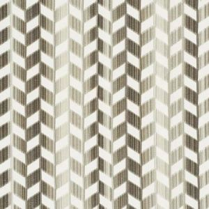 72810 CHEVRON STRIE VELVET Stone Schumacher Fabric