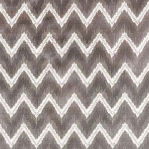 72841 CHEVRON VELVET Grey Schumacher Fabric