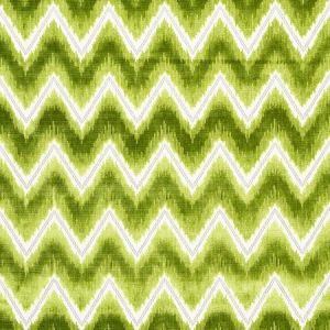 72843 CHEVRON VELVET Leaf Schumacher Fabric