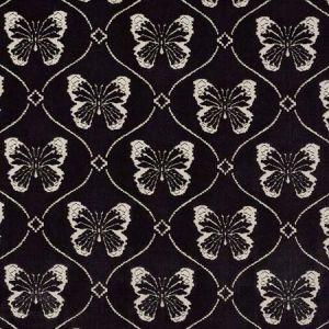 72960 PAPILLON VELVET Onyx Schumacher Fabric