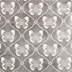 72961 PAPILLON VELVET Pewter Schumacher Fabric
