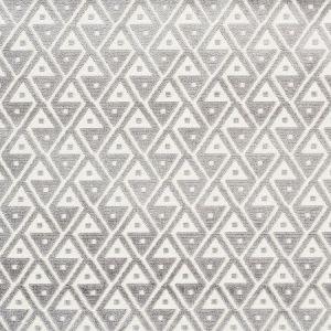 72991 HOFFMANN VELVET Silver Schumacher Fabric