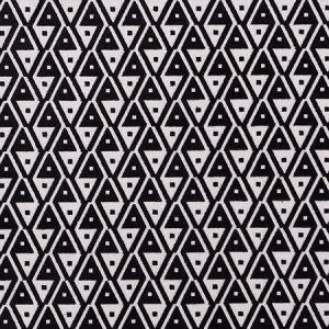 72992 HOFFMANN VELVET Onyx Schumacher Fabric