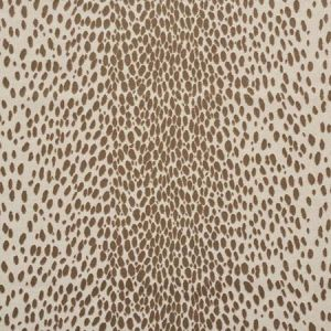 73911 CHEETAH VELVET Natural Schumacher Fabric
