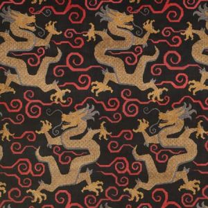 73974 BIXI VELVET Onyx Schumacher Fabric