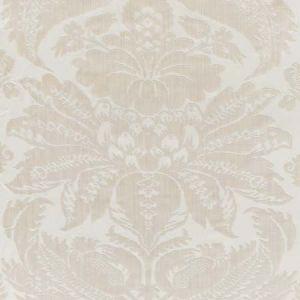 73981 PAVIA SILK VELVET Platinum Schumacher Fabric