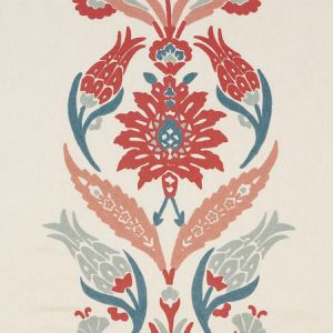74140 ANAGADA EMBROIDERY Dusty Rose Schumacher Fabric