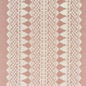 75473 WENTWORTH EMBROIDERY Rose Schumacher Fabric