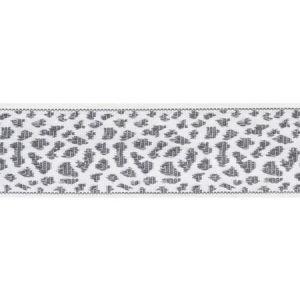 75855 Leopard Tape Grey Schumacher Trim