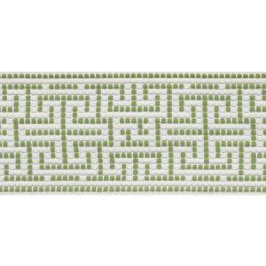 75951 Maze Tape Leaf Schumacher Trim