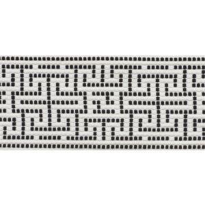 75952 Maze Tape Black Schumacher Trim