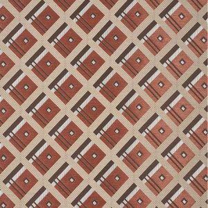 76010 LEGRAD ARGYLE Cognac Schumacher Fabric