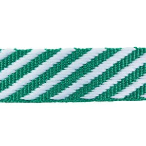 76106 TWILL TAPE Emerald Schumacher Trim