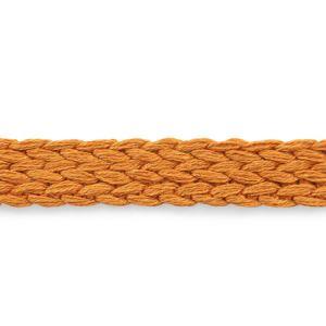 76282 Braided Linen Tape Orange Schumacher Trim