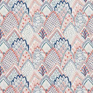 76310 ALBIZIA EMBROIDERY Delft Rose Schumacher Fabric