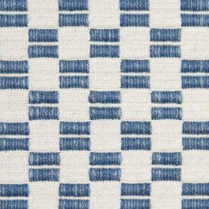 76740 ELKHART Blue Schumacher Fabric