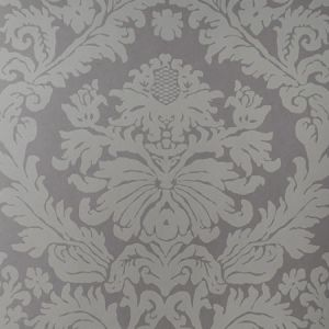 90011W MANDERLEY Trough Grey 02 Vervain Wallpaper