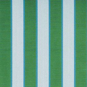 77100 RIBBON STRIPE Emerald Schumacher Fabric