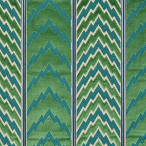 77110 FLORENTINE VELVET Emerald Schumacher Fabric