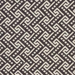 77122 IONIC WEAVE Black Schumacher Fabric