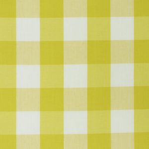 77320 CAMDEN COTTON CHECK Yellow Schumacher Fabric